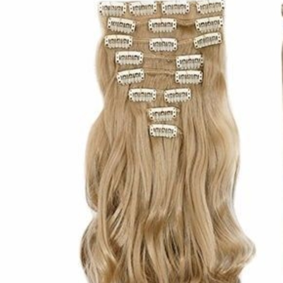 Accessories Thick Real Natural 8pcs 18 Clips In Hair Extension